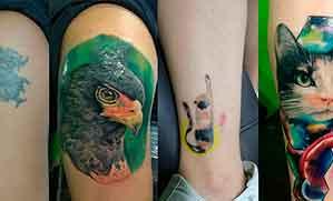 Arreglo de tatuajes